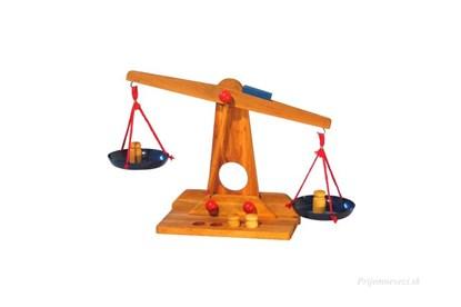 Obrázok pre výrobcu Drevené dvojramenné váhy