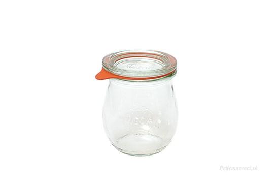 Zavárací pohár Weck tulipán - 220ml