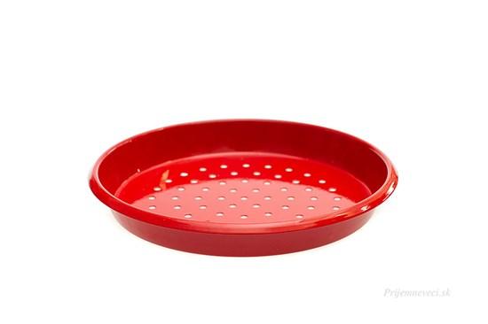 Detské kovové sitko - červené