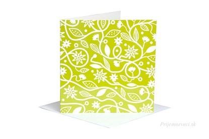 Obrázok pre výrobcu Blahoželanie - zelená lúka