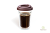 Dvojstenný pohár Simax - Coffee to go