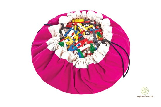 Vak na hranie - Play and go - ružový