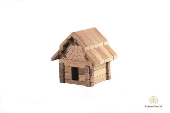 Drevená stavebnica Archaprogram - salaš