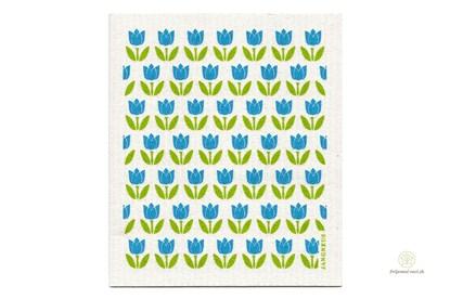 Obrázok pre výrobcu Hubka - malé tulipány tyrkysové