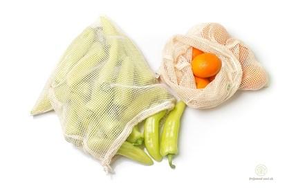 Obrázok pre výrobcu Sieťové vrecká na ovocie a zeleninu MS-2ks
