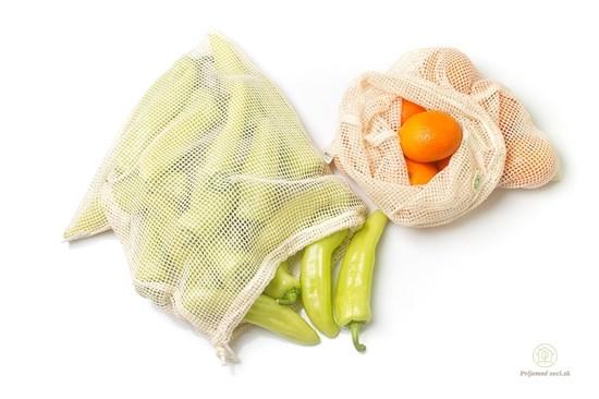 Sieťové vrecká na ovocie a zeleninu MS - 2ks