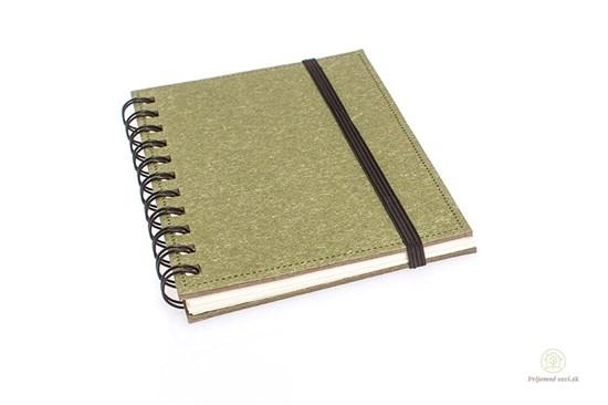Zápisník zelený  A6