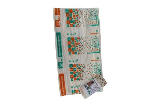 Kompostovateľné vrecia -10l-25ks