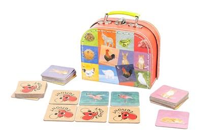 Obrázok pre výrobcu Hra pexeso - protiklady v kufríku