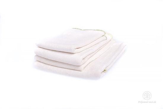 Veľká sada utierok z bavlny a bambusu