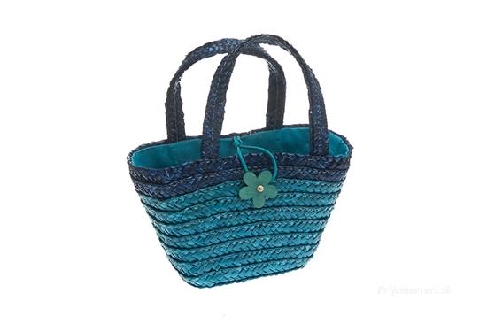 Detská nákupná taška - modrá