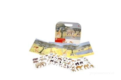 Obrázok pre výrobcu Magnetická hra - safari