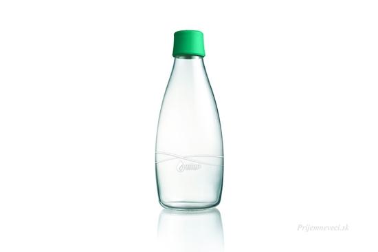 Retap sklenená fľaša 800ml -rôzne farby