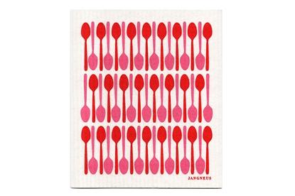 Obrázok pre výrobcu Hubka - červené lyžičky