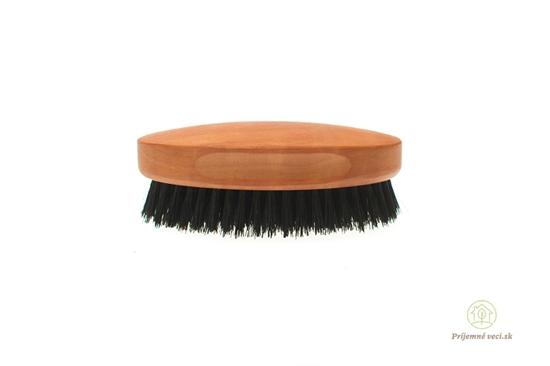 Hrušková kefa na vlasy pre mužov