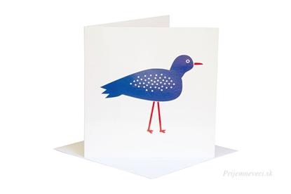 Obrázok pre výrobcu Blahoželanie - modrý vták