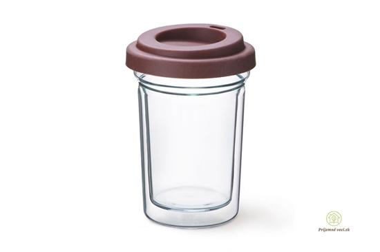 Dvojstenný pohár Simax- Coffee to go