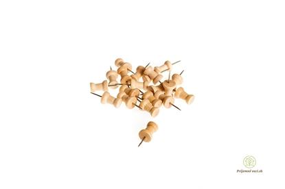 Obrázok pre výrobcu Drevené pripínačiky - 20ks