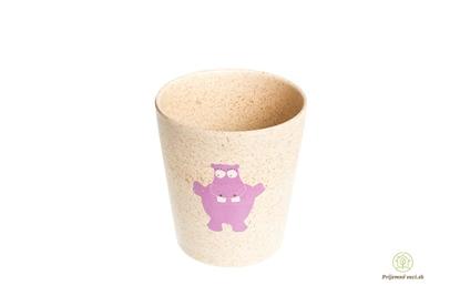 Obrázok pre výrobcu Pohár na zubnú kefku -Jack n` Jill-hrošík