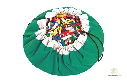 Obrázok pre výrobcu Vak na hranie - Play and go - zelený