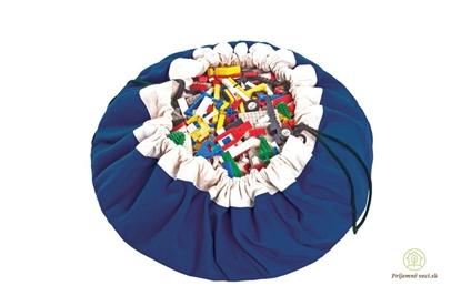 Obrázok pre výrobcu Vak na hranie - Play and go - modrý