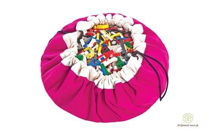 Obrázok pre výrobcu Vak na hranie - Play and go - ružový