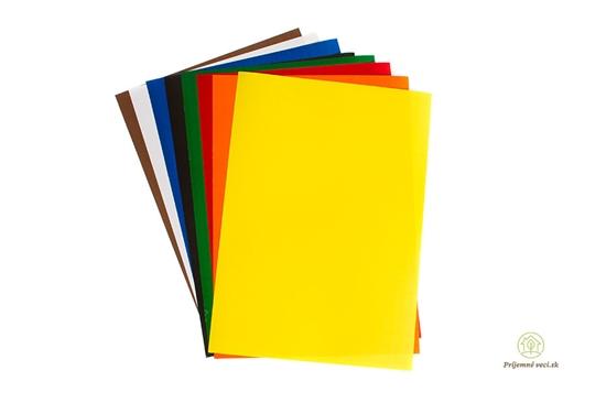 Samolepiace farebné papiere -8ks