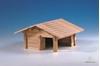 drevená stavebnica stajňa