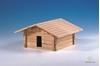 drevená stavebnica chliev