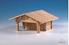 drevená stavebnica holičstvo