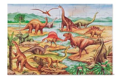 Obrázok pre výrobcu Podlahové puzzle - dinosaury