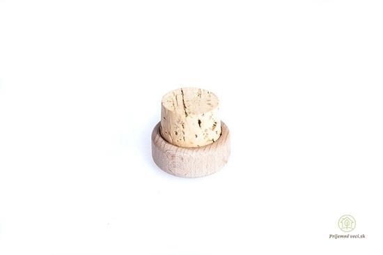 Korkovo-drevený vrchnák na Retap