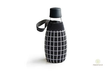 Obrázok pre výrobcu Retap - obal 500ml- čierny úplet mriežka