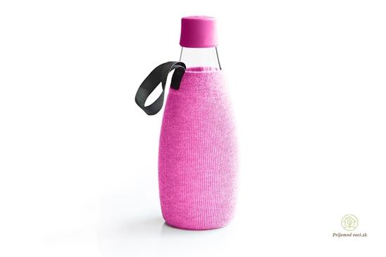 Retap - obal 800ml- ružový úplet