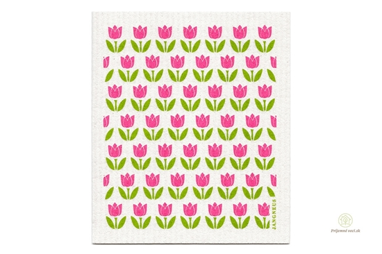 Hubka - malé tulipány ružové