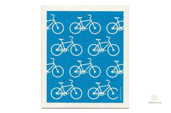 Hubka - tyrkysové bicykle