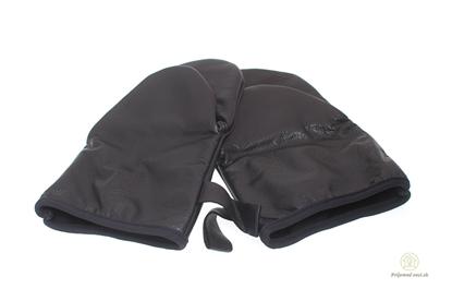 Obrázok pre výrobcu Čierne kožené chňapky- 2ks