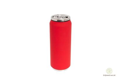 Obrázok pre výrobcu Termoplechovka YD-500ml-Classic-červená