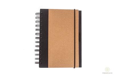 Obrázok pre výrobcu Zápisník hnedý