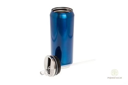 Obrázok pre výrobcu Termoplechovka Yoko 500ml Classic-modrá