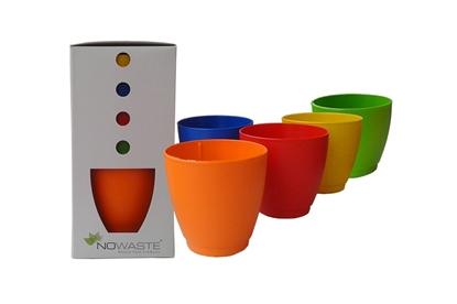 Obrázok pre výrobcu Poháre z bioplastu -5ks