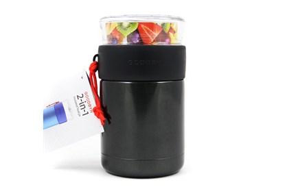 Obrázok pre výrobcu Goodbyn -Termoska na jedlo so skleneným vrchnákom 473ml-čierna