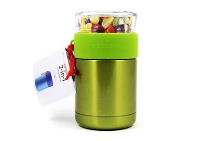Obrázok pre výrobcu Goodbyn -Termoska na jedlo so skleneným vrchnákom 473ml-zelená
