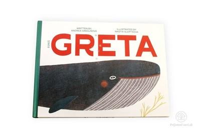 Obrázok pre výrobcu Greta - kniha v angličtine