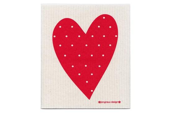 Hubka - srdce červené