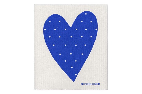 Hubka - srdce modré