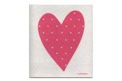 Obrázok pre výrobcu Hubka - srdce ružové