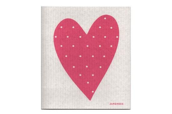 Hubka - srdce ružové