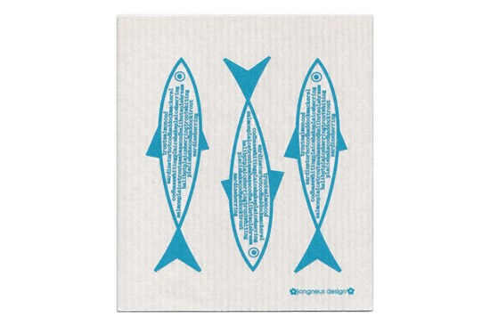 Hubka - ryby tyrkysové
