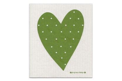 Obrázok pre výrobcu Hubka - srdce zelené